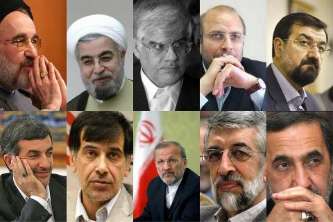 مقایسه 10 کاندیدای مطرح بر اساس 10ويژگی