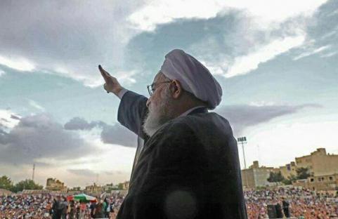 پیروزی دکتر حسن روحانی در انتخابات ریاست جمهوری