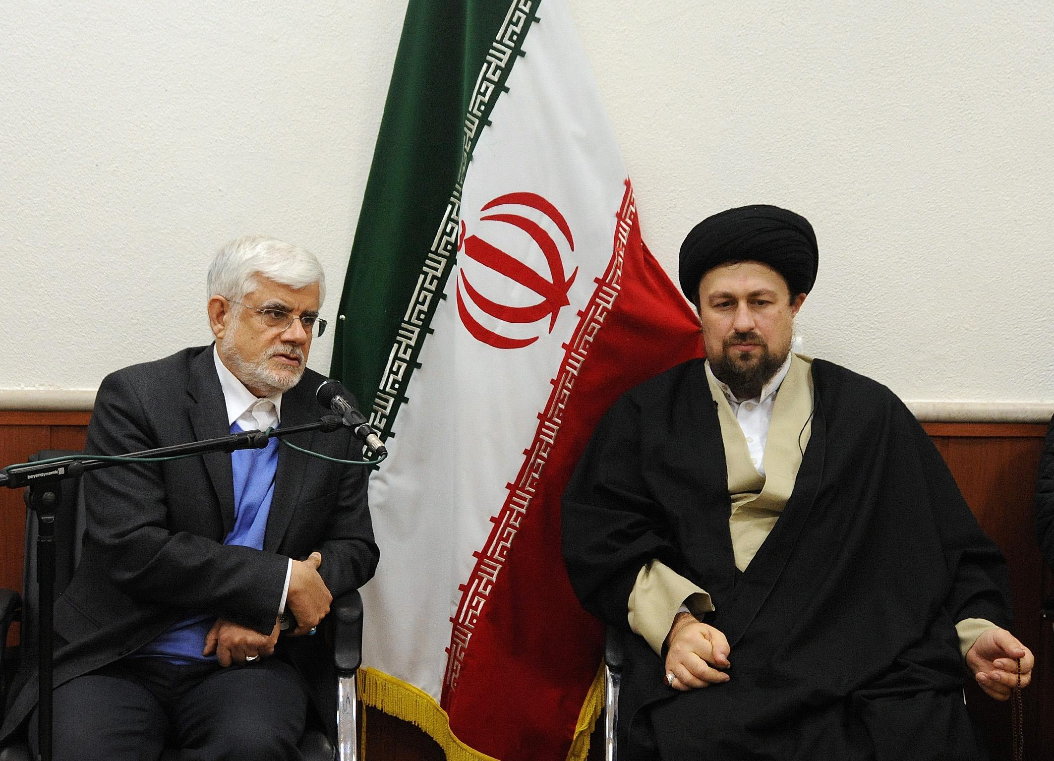 گزارش تصویری/دیدار جمعی از نمایندگان تهران با یادگار امام خمینی
