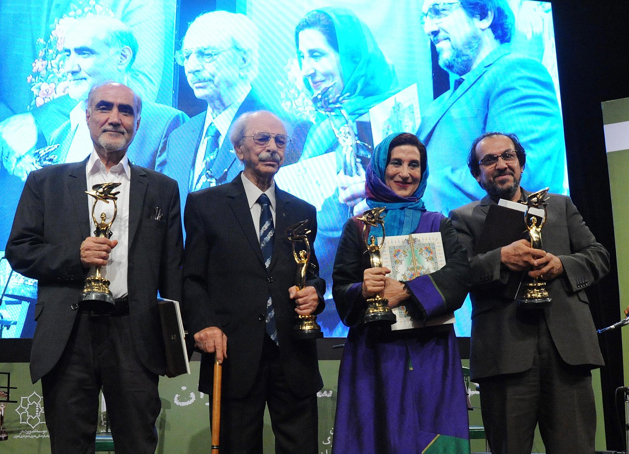 تصاویر/ آیین نکوداشت سینمای ایران